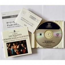 Bach - Pierre Fournier & Zuzana Ruzickova – Les Sonates Pour Violoncelle & Clavecin - BWV 1027-1029