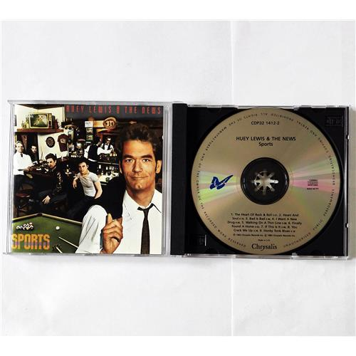 CD Audio  Huey Lewis And The News – Sports в Vinyl Play магазин LP и CD  08279