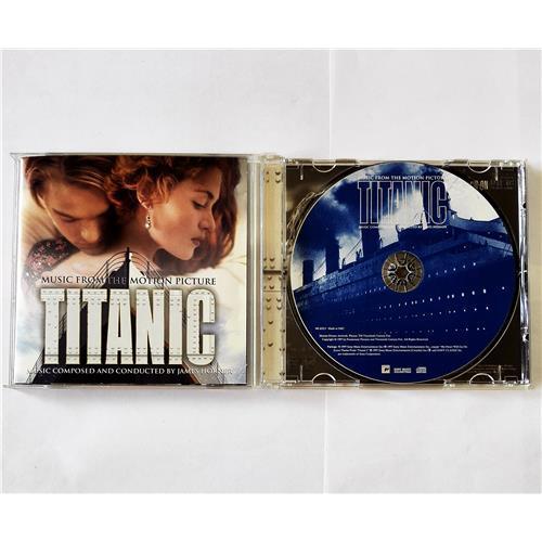 CD Audio  James Horner – Titanic (Music From The Motion Picture) в Vinyl Play магазин LP и CD  08501