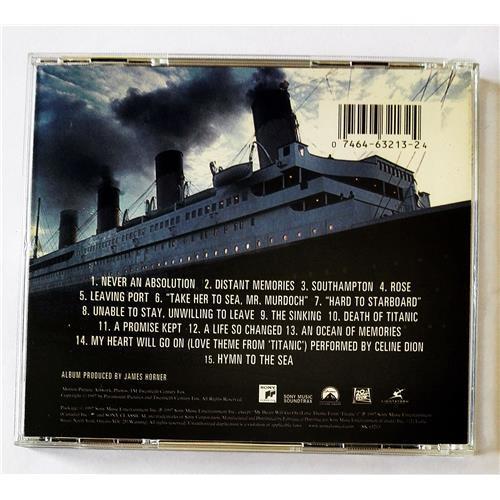 Картинка  CD Audio  James Horner – Titanic (Music From The Motion Picture) в  Vinyl Play магазин LP и CD   08501 1