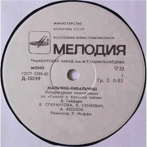 Картинка  Виниловые пластинки  А. Гайдар – Мальчиш-Кибальчиш / Д-20299—300 в  Vinyl Play магазин LP и CD   04478 2