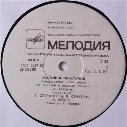 Картинка  Виниловые пластинки  А. Гайдар – Мальчиш-Кибальчиш / Д-20299—300 в  Vinyl Play магазин LP и CD   04478 3