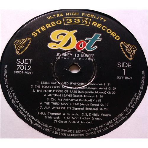 Картинка  Виниловые пластинки  Bob Tomson – Journey To Europe / SJET-7012 в  Vinyl Play магазин LP и CD   05776 2