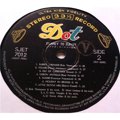 Картинка  Виниловые пластинки  Bob Tomson – Journey To Europe / SJET-7012 в  Vinyl Play магазин LP и CD   05776 3