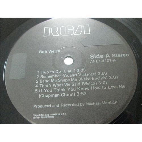 Картинка  Виниловые пластинки  Bob Welch – Bob Welch / AFLI-4107 в  Vinyl Play магазин LP и CD   03497 2