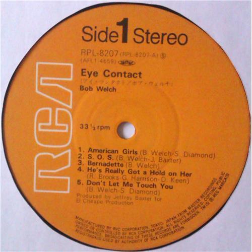 Картинка  Виниловые пластинки  Bob Welch – Eye Contact / RPL-8207 в  Vinyl Play магазин LP и CD   04539 4