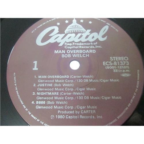 Картинка  Виниловые пластинки  Bob Welch – Man Overboard / ECS-81373 в  Vinyl Play магазин LP и CD   03481 4