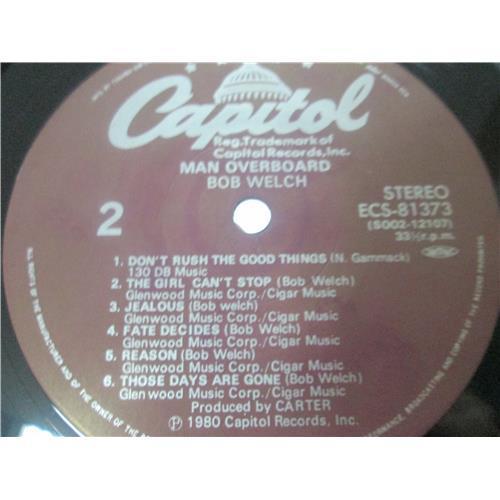 Картинка  Виниловые пластинки  Bob Welch – Man Overboard / ECS-81373 в  Vinyl Play магазин LP и CD   03481 5