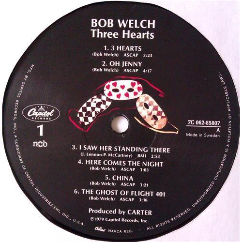 Картинка  Виниловые пластинки  Bob Welch – Three Hearts / 7C 062-85807 в  Vinyl Play магазин LP и CD   04913 4