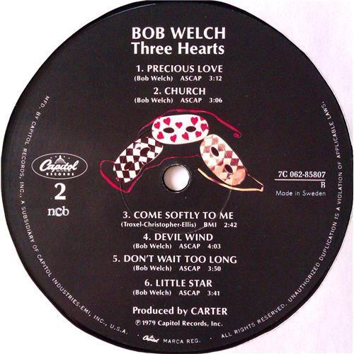 Картинка  Виниловые пластинки  Bob Welch – Three Hearts / 7C 062-85807 в  Vinyl Play магазин LP и CD   04913 5