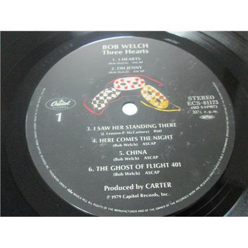 Картинка  Виниловые пластинки  Bob Welch – Three Hearts / ESC-81173 в  Vinyl Play магазин LP и CD   03482 2