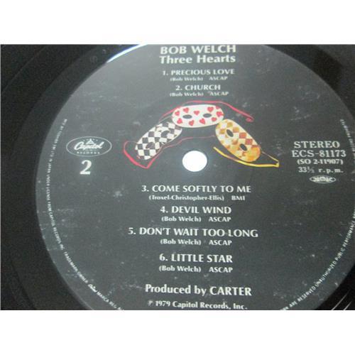 Картинка  Виниловые пластинки  Bob Welch – Three Hearts / ESC-81173 в  Vinyl Play магазин LP и CD   03482 3
