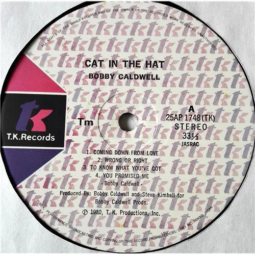 Картинка  Виниловые пластинки  Bobby Caldwell – Cat In The Hat / 25AP 1748 в  Vinyl Play магазин LP и CD   07378 4
