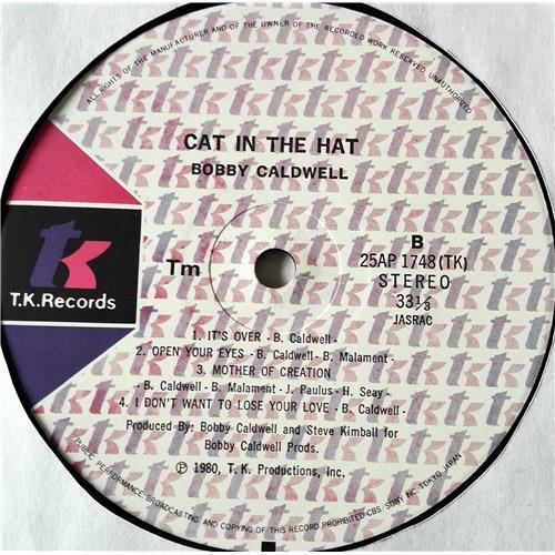Картинка  Виниловые пластинки  Bobby Caldwell – Cat In The Hat / 25AP 1748 в  Vinyl Play магазин LP и CD   07378 5
