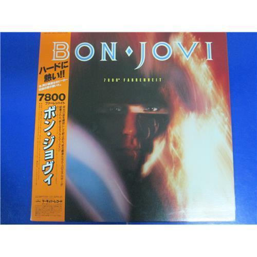 Виниловые пластинки  Bon Jovi – 7800 Fahrenheit / 28PP-1001 в Vinyl Play магазин LP и CD  00688