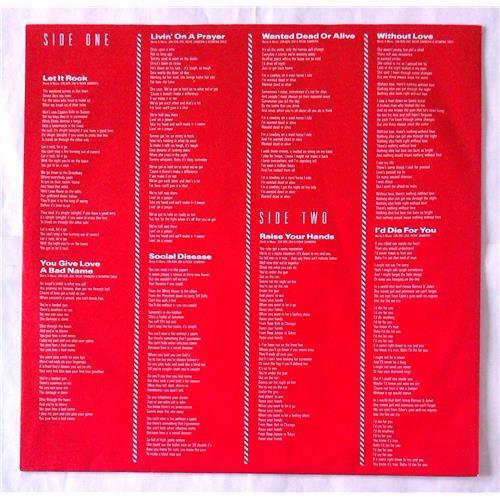 Картинка  Виниловые пластинки  Bon Jovi – Slippery When Wet / 830 264-1 в  Vinyl Play магазин LP и CD   06218 2