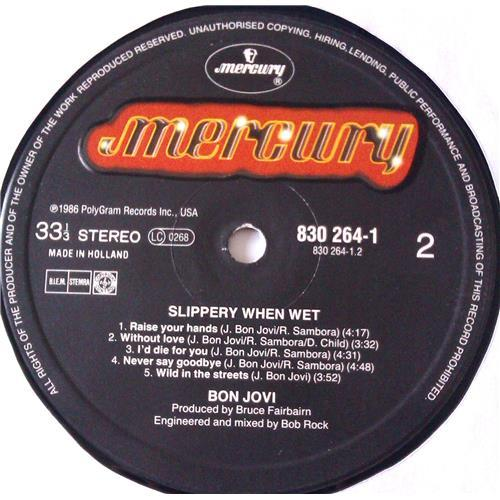 Картинка  Виниловые пластинки  Bon Jovi – Slippery When Wet / 830 264-1 в  Vinyl Play магазин LP и CD   06218 5