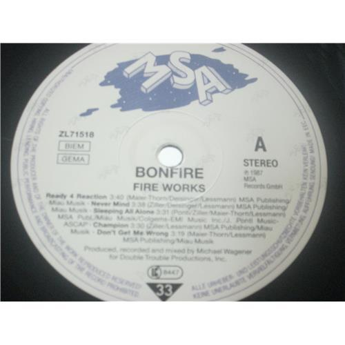 Картинка  Виниловые пластинки  Bonfire – Fire Works / ZL 71518 в  Vinyl Play магазин LP и CD   03583 4