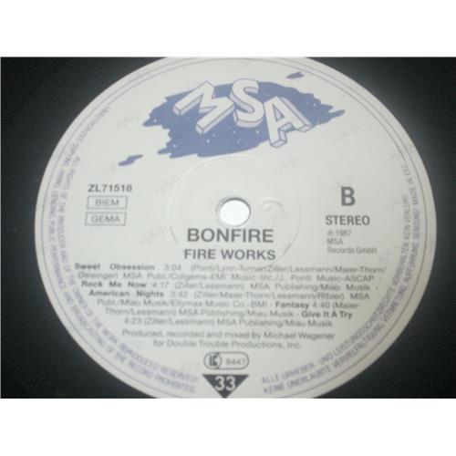 Картинка  Виниловые пластинки  Bonfire – Fire Works / ZL 71518 в  Vinyl Play магазин LP и CD   03583 5