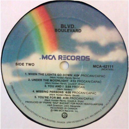 Картинка  Виниловые пластинки  Boulevard – BLVD. / MCA-42111 в  Vinyl Play магазин LP и CD   04755 3
