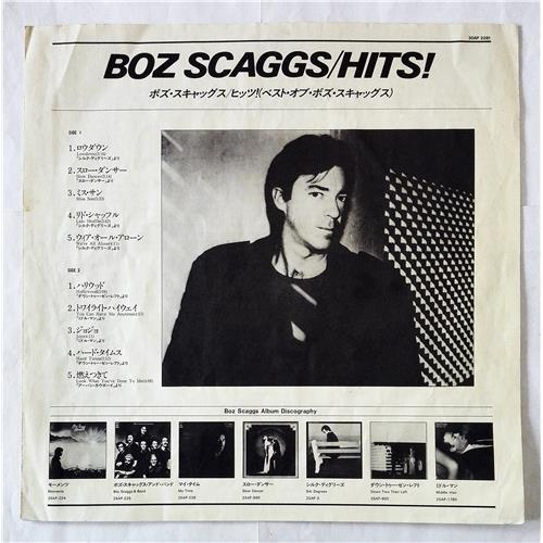 Картинка  Виниловые пластинки  Boz Scaggs – Hits! / 30AP 2281 в  Vinyl Play магазин LP и CD   07689 2
