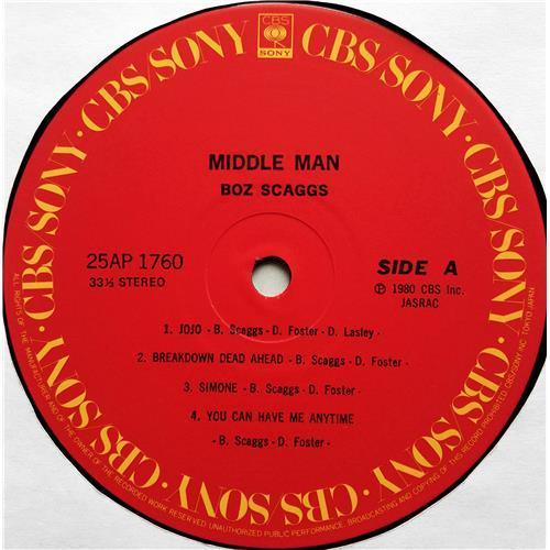 Картинка  Виниловые пластинки  Boz Scaggs – Middle Man / 25AP 1760 в  Vinyl Play магазин LP и CD   07556 6