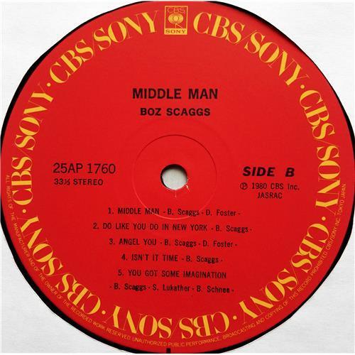 Картинка  Виниловые пластинки  Boz Scaggs – Middle Man / 25AP 1760 в  Vinyl Play магазин LP и CD   07556 7