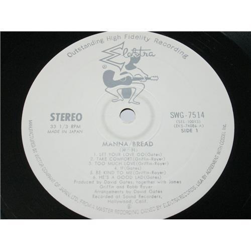 Картинка  Виниловые пластинки  Bread – Manna / SWG-7514 в  Vinyl Play магазин LP и CD   04139 2