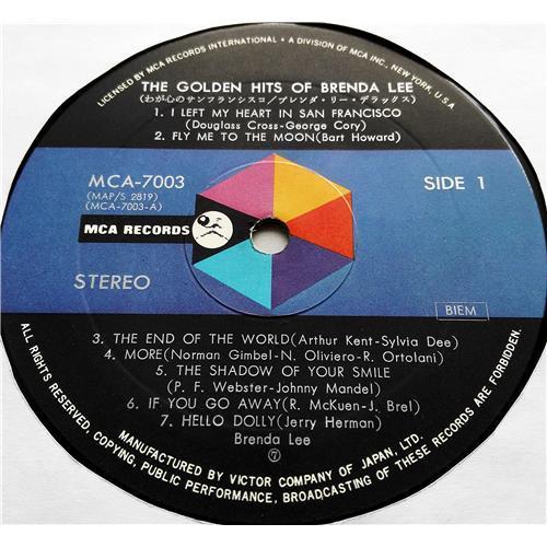 Картинка  Виниловые пластинки  Brenda Lee – The Golden Hits Of Brenda Lee / MCA-7003 в  Vinyl Play магазин LP и CD   07560 2