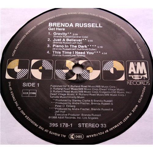 Картинка  Виниловые пластинки  Brenda Russell – Get Here / 395 178-1 в  Vinyl Play магазин LP и CD   06572 4