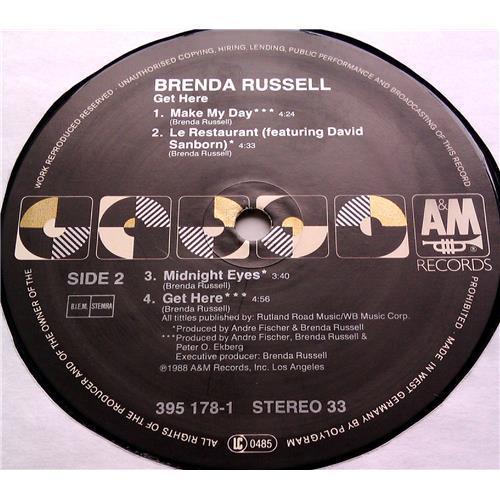 Картинка  Виниловые пластинки  Brenda Russell – Get Here / 395 178-1 в  Vinyl Play магазин LP и CD   06572 5