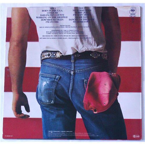 Картинка  Виниловые пластинки  Bruce Springsteen – Born In The U.S.A. / CBS 86304 в  Vinyl Play магазин LP и CD   04992 1