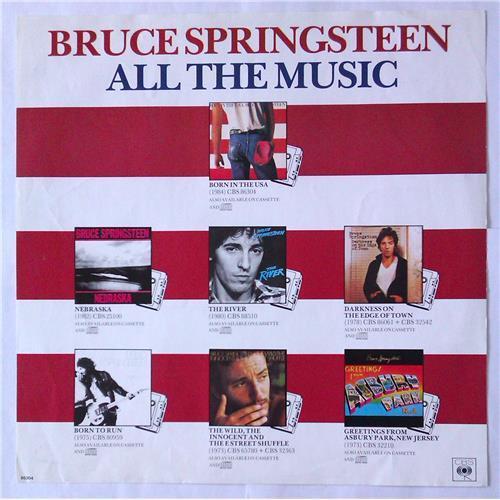 Картинка  Виниловые пластинки  Bruce Springsteen – Born In The U.S.A. / CBS 86304 в  Vinyl Play магазин LP и CD   04992 4