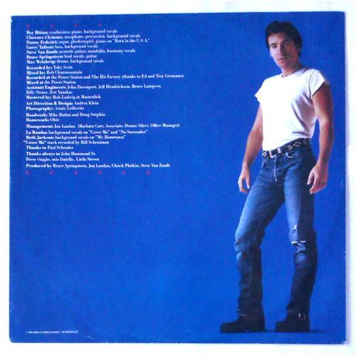 Картинка  Виниловые пластинки  Bruce Springsteen – Born In The U.S.A. / CBS 86304 в  Vinyl Play магазин LP и CD   04992 6