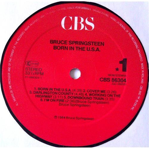 Картинка  Виниловые пластинки  Bruce Springsteen – Born In The U.S.A. / CBS 86304 в  Vinyl Play магазин LP и CD   04992 7