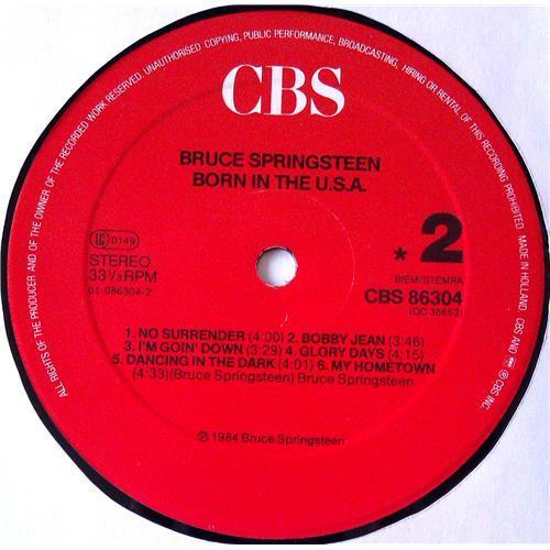 Картинка  Виниловые пластинки  Bruce Springsteen – Born In The U.S.A. / CBS 86304 в  Vinyl Play магазин LP и CD   04992 8