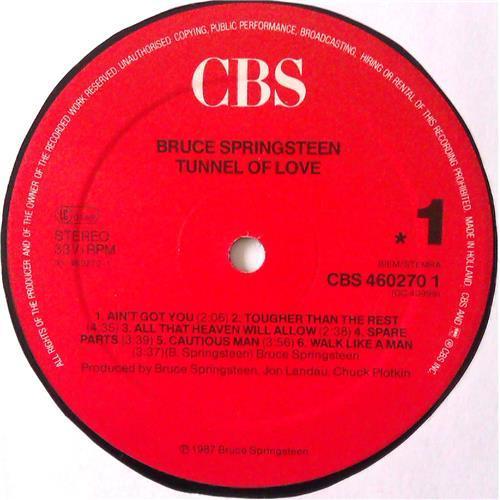 Картинка  Виниловые пластинки  Bruce Springsteen – Tunnel Of Love / CBS 460270 1 в  Vinyl Play магазин LP и CD   04461 4