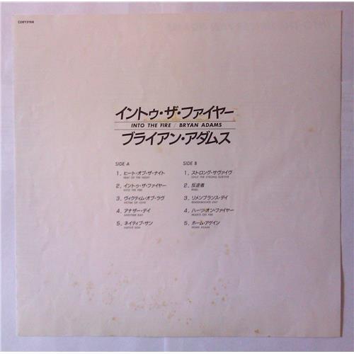 Картинка  Виниловые пластинки  Bryan Adams – Into The Fire / C28Y3166 в  Vinyl Play магазин LP и CD   03969 4