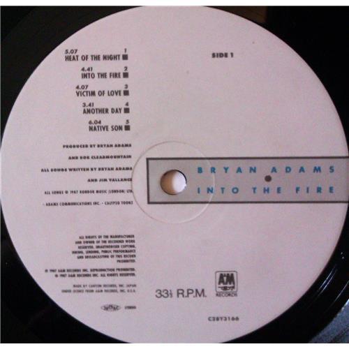 Картинка  Виниловые пластинки  Bryan Adams – Into The Fire / C28Y3166 в  Vinyl Play магазин LP и CD   03969 6
