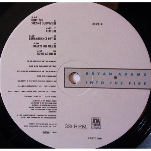 Картинка  Виниловые пластинки  Bryan Adams – Into The Fire / C28Y3166 в  Vinyl Play магазин LP и CD   03969 7