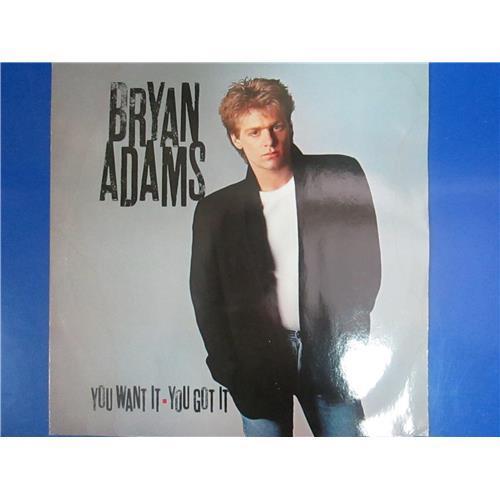 Виниловые пластинки  Bryan Adams – You Want It, You Got It / 393 154-1 в Vinyl Play магазин LP и CD  03374