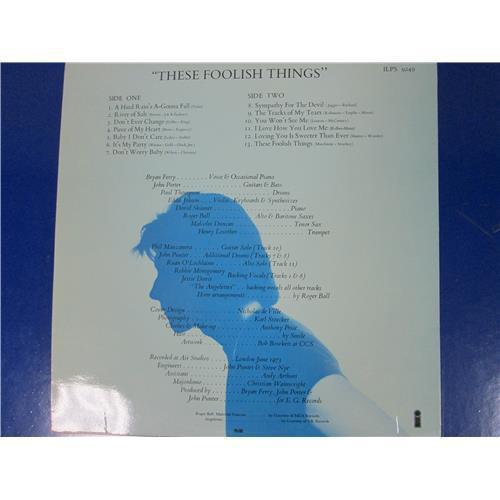 Картинка  Виниловые пластинки  Bryan Ferry – These Foolish Things / ILPS 9249 в  Vinyl Play магазин LP и CD   05426 1
