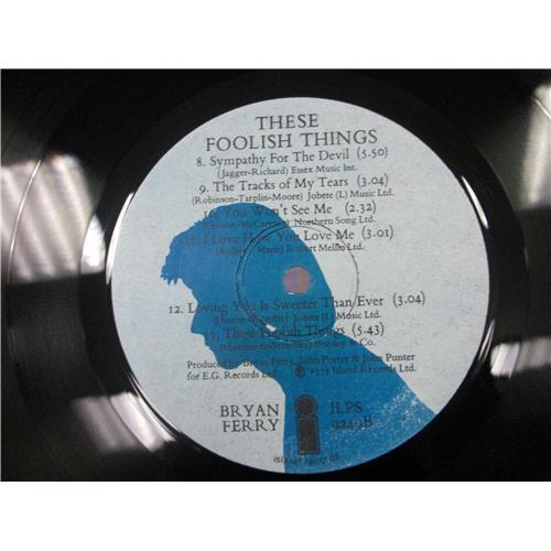 Картинка  Виниловые пластинки  Bryan Ferry – These Foolish Things / ILPS 9249 в  Vinyl Play магазин LP и CD   05426 3