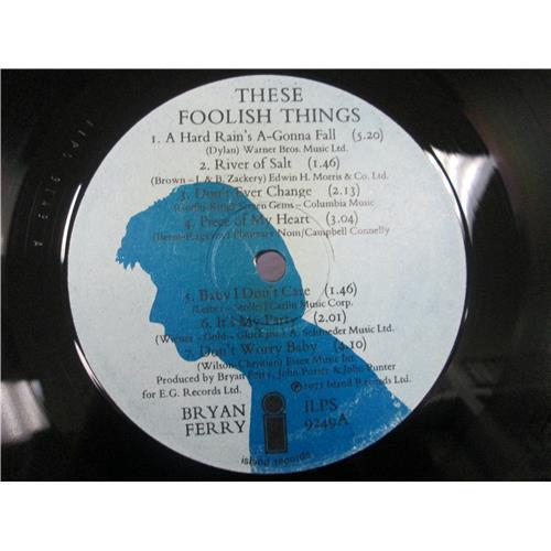 Картинка  Виниловые пластинки  Bryan Ferry – These Foolish Things / ILPS 9249 в  Vinyl Play магазин LP и CD   05426 4