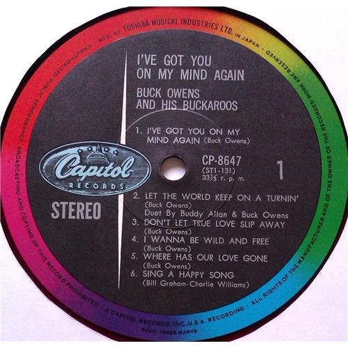 Картинка  Виниловые пластинки  Buck Owens And His Buckaroos – I've Got You On My Mind Again / CP-8647 в  Vinyl Play магазин LP и CD   05809 2