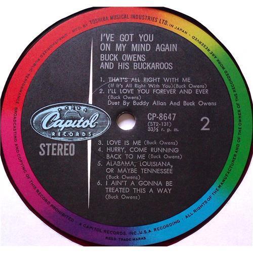 Картинка  Виниловые пластинки  Buck Owens And His Buckaroos – I've Got You On My Mind Again / CP-8647 в  Vinyl Play магазин LP и CD   05809 3