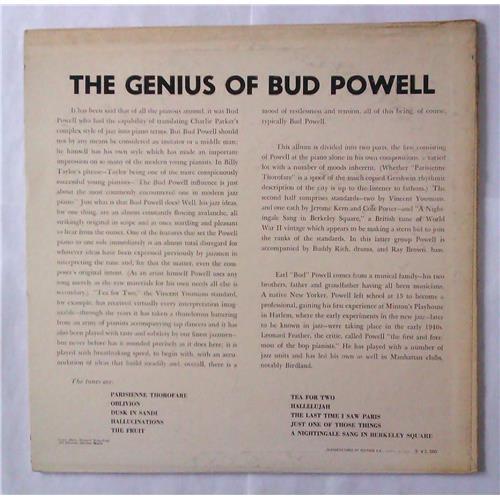 Картинка  Виниловые пластинки  Bud Powell – The Genius Of Bud Powell / MV 2035 в  Vinyl Play магазин LP и CD   04540 1
