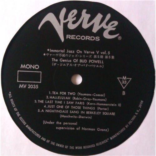 Картинка  Виниловые пластинки  Bud Powell – The Genius Of Bud Powell / MV 2035 в  Vinyl Play магазин LP и CD   04540 3