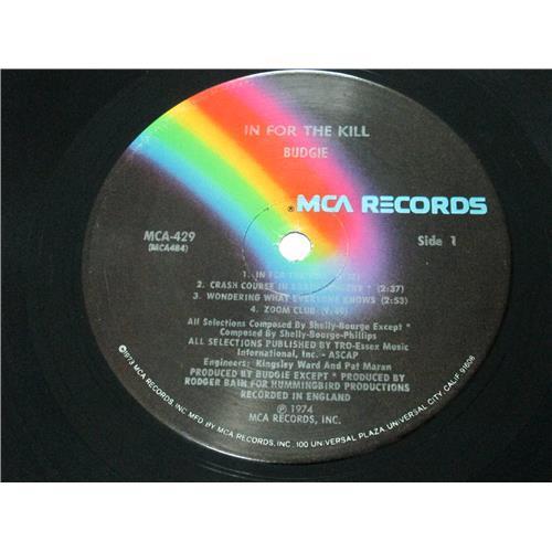 Картинка  Виниловые пластинки  Budgie – In For The Kill! / MCA 429 в  Vinyl Play магазин LP и CD   04060 2