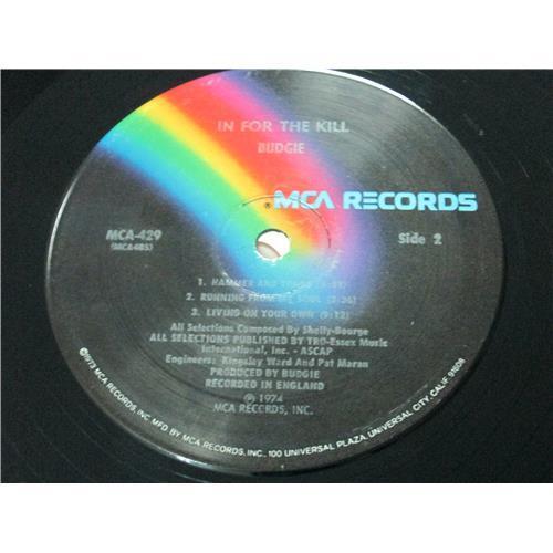 Картинка  Виниловые пластинки  Budgie – In For The Kill! / MCA 429 в  Vinyl Play магазин LP и CD   04060 3